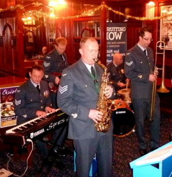 RAF band The Squadronaires