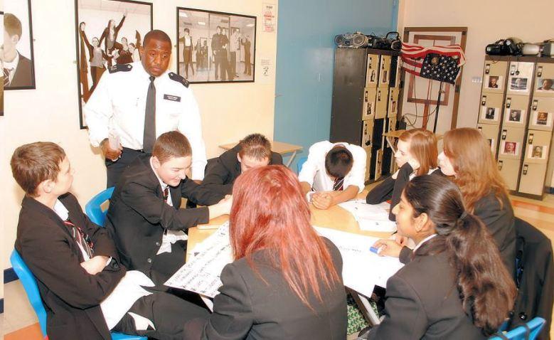 Crime Prevent at schools photo