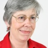 Photo of the journalist; Pam Taylor