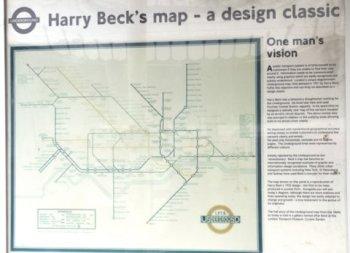 Original Harry Beck tube map