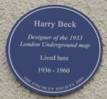 Blue Plaque for Harry Beck