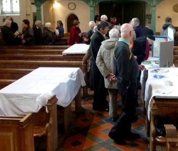 St Marys stalls - history day