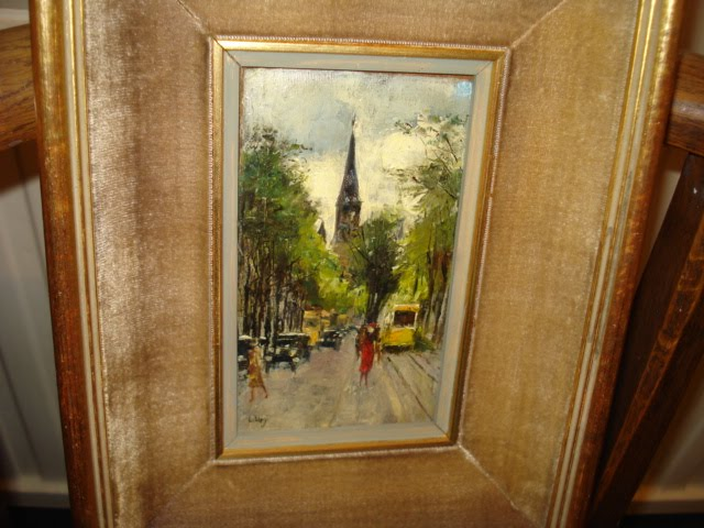 Picture of the stolen painting