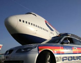 Photo of Police Charity (car and plane)