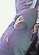 Photo of burglar