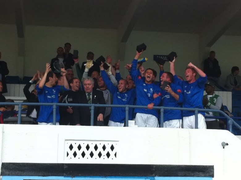 Wingate and Finchley team celebrating
